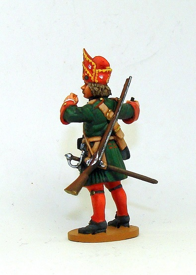 Figures: Russian grenadiers, Great northern war, photo #6