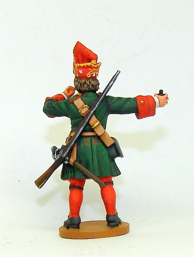 Figures: Russian grenadiers, Great northern war, photo #7