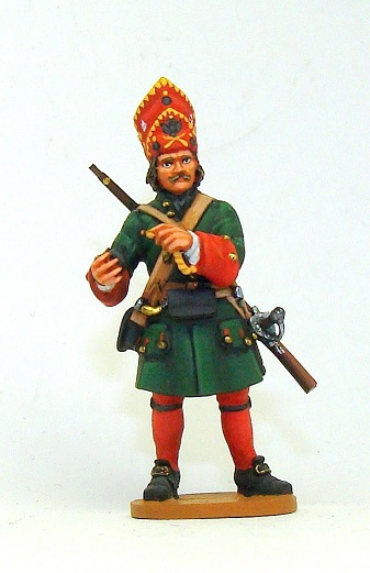 Figures: Russian grenadiers, Great northern war, photo #8