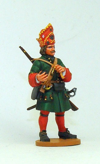 Figures: Russian grenadiers, Great northern war, photo #9