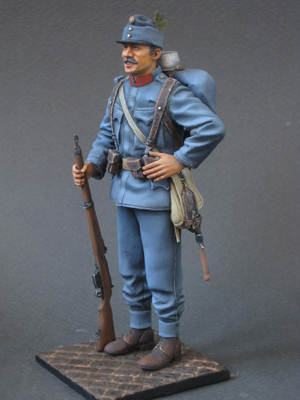 Figures: Austrian-Hungarian infantryman, 1914, photo #3
