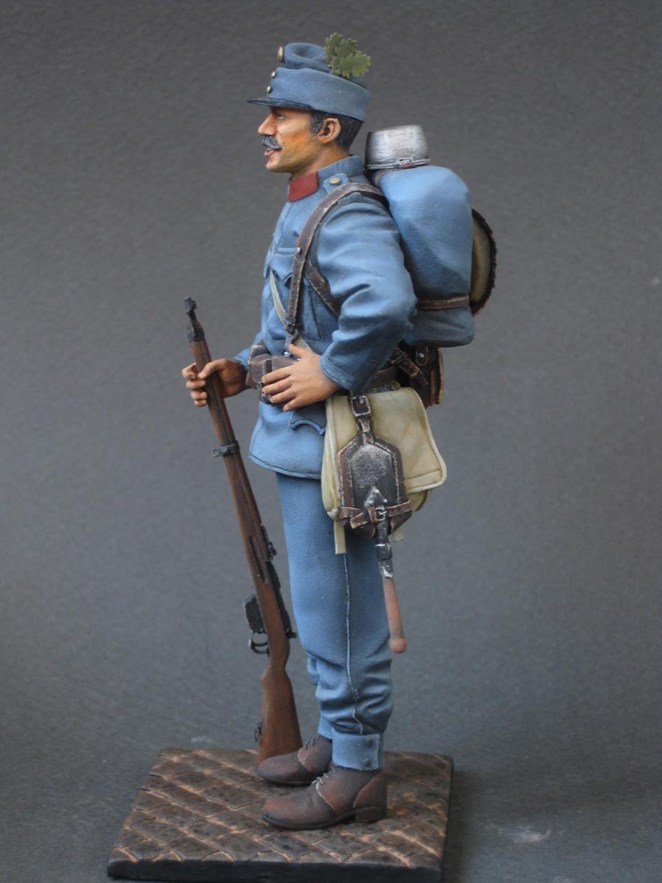 Figures: Austrian-Hungarian infantryman, 1914, photo #4