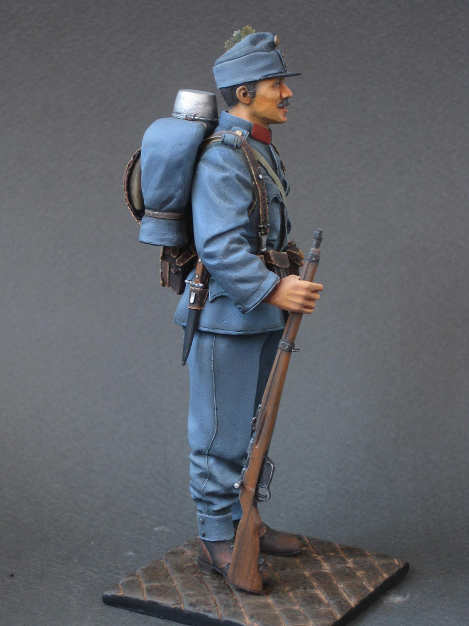 Figures: Austrian-Hungarian infantryman, 1914, photo #8