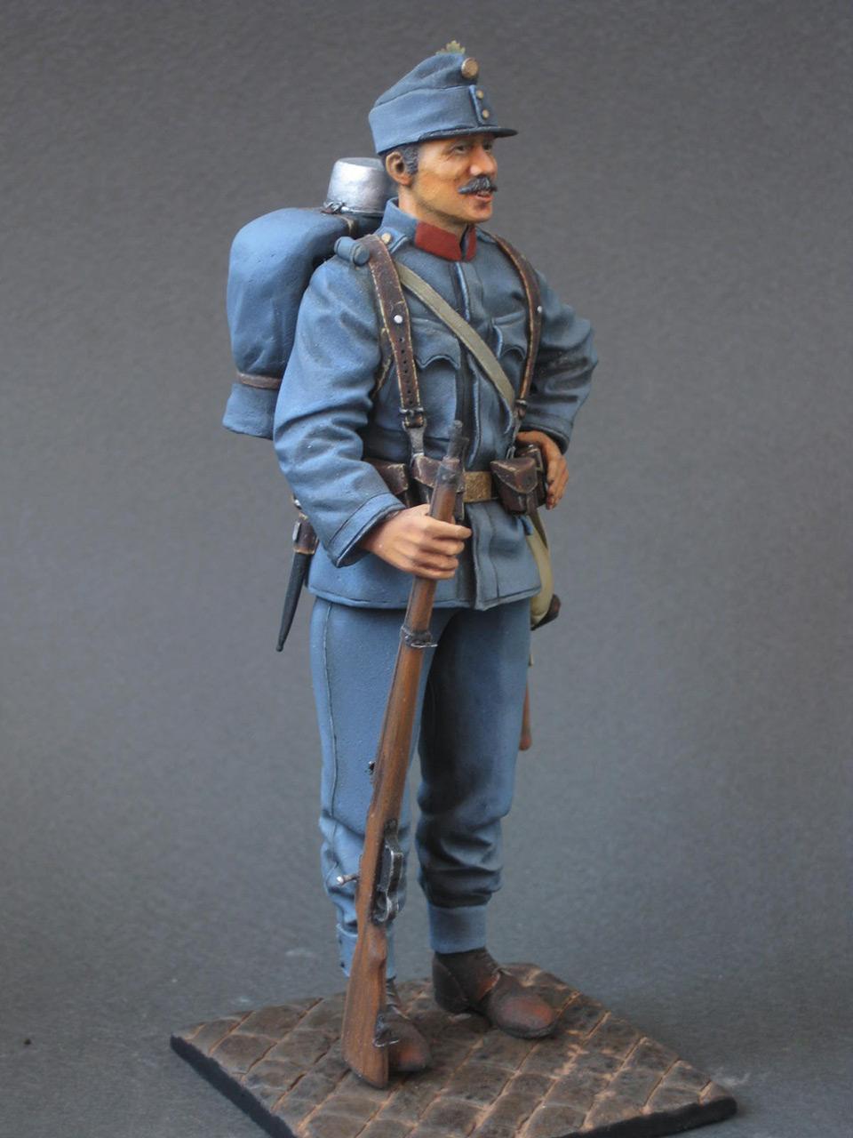 Figures: Austrian-Hungarian infantryman, 1914, photo #9
