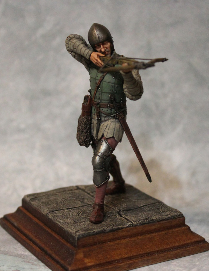 Figures: French crossbowman, XV cent., photo #10