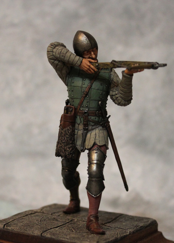 Figures: French crossbowman, XV cent., photo #2