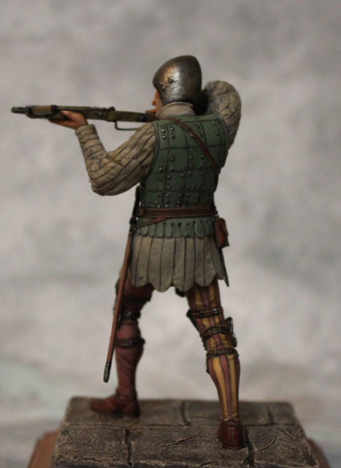 Figures: French crossbowman, XV cent., photo #7