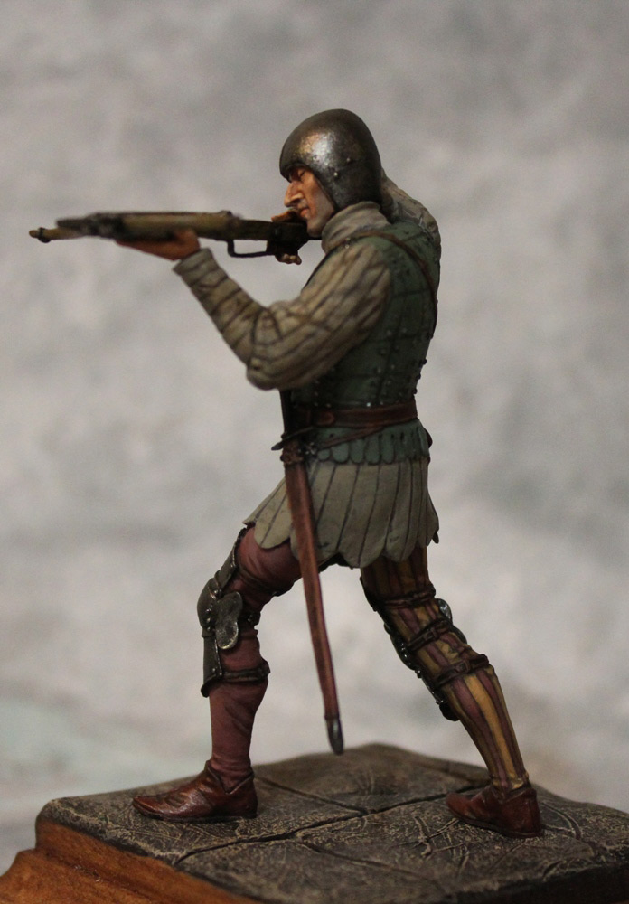 Figures: French crossbowman, XV cent., photo #8