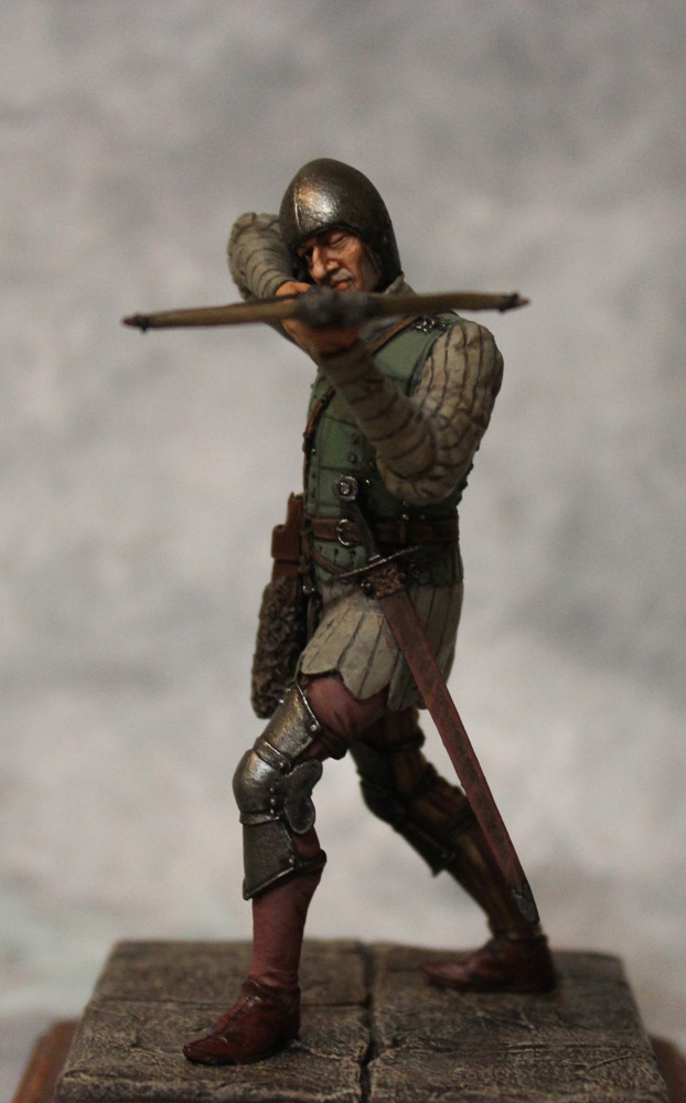 Figures: French crossbowman, XV cent., photo #9