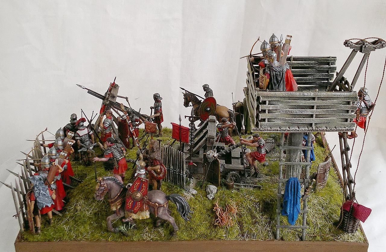 Dioramas and Vignettes: Roman battle position, photo #10