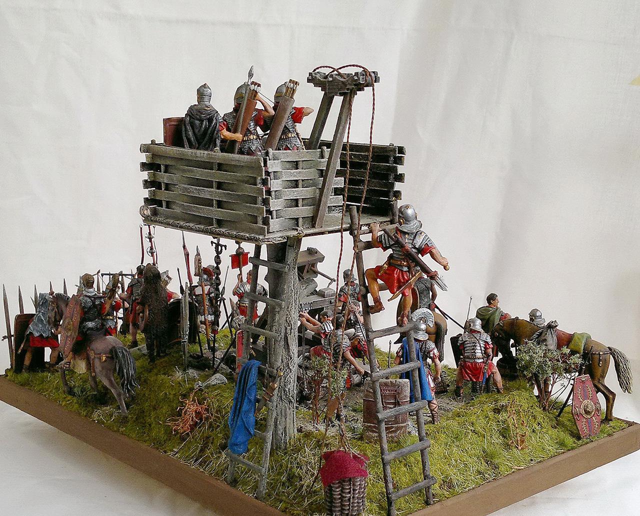 Dioramas and Vignettes: Roman battle position, photo #11