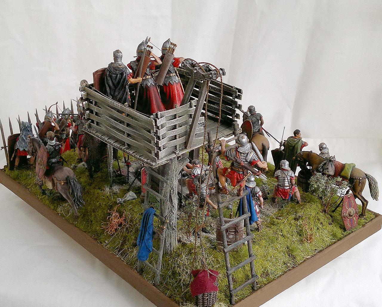 Dioramas and Vignettes: Roman battle position, photo #12