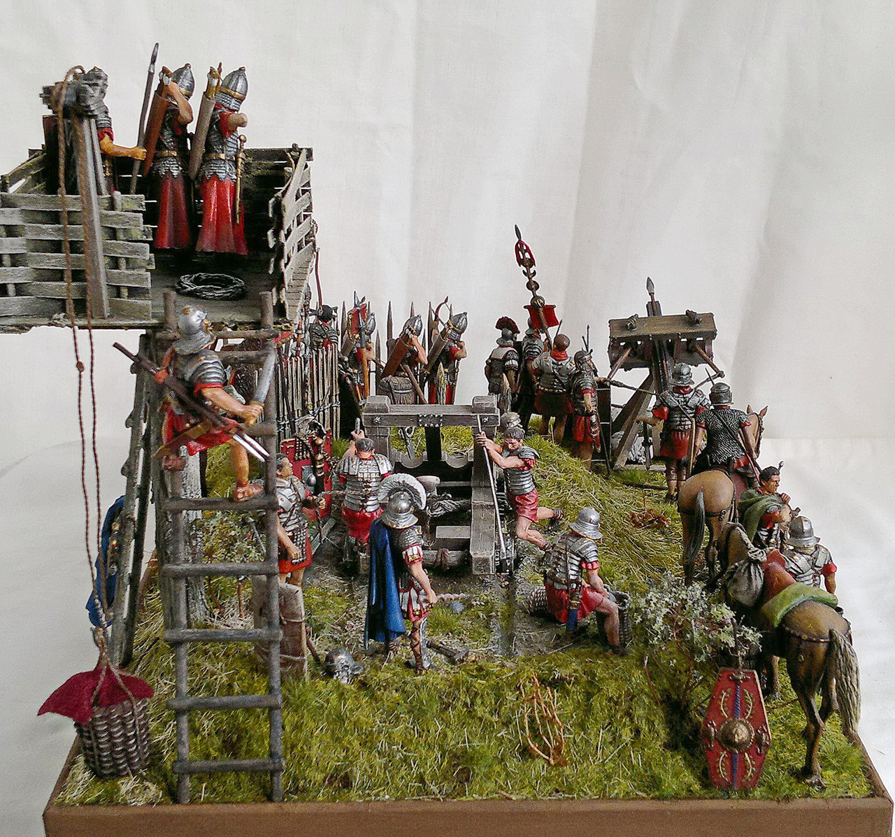 Dioramas and Vignettes: Roman battle position, photo #13