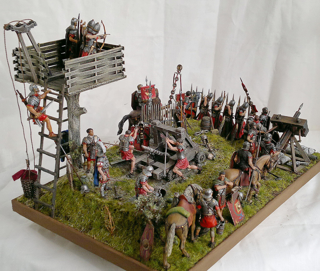 Dioramas and Vignettes: Roman battle position, photo #14