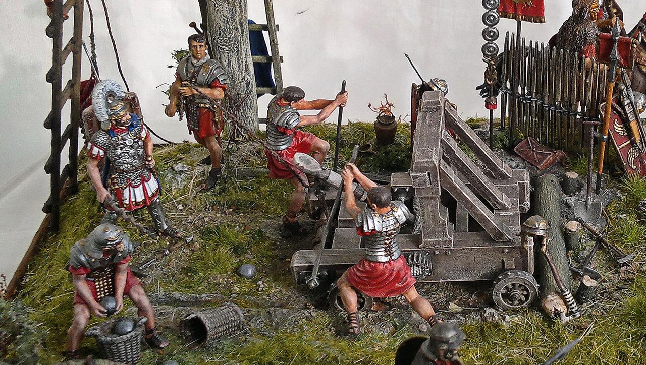 Dioramas and Vignettes: Roman battle position, photo #15