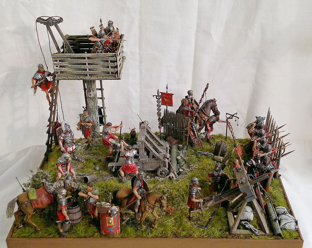Dioramas and Vignettes: Roman battle position, photo #2