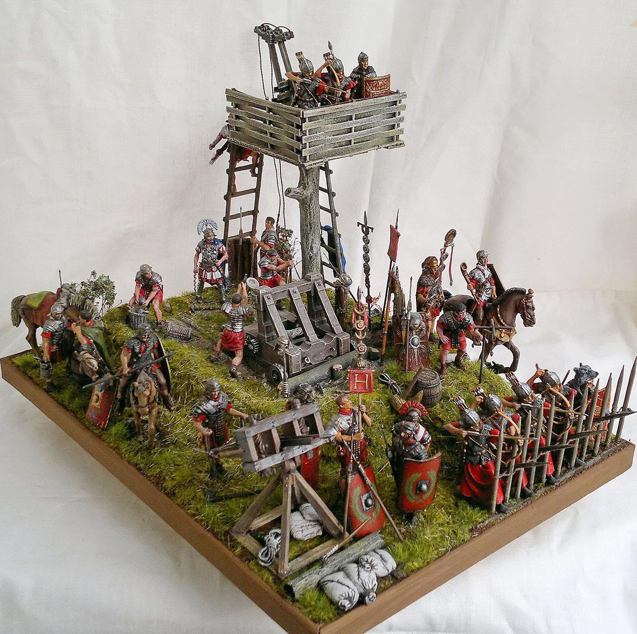 Dioramas and Vignettes: Roman battle position, photo #4