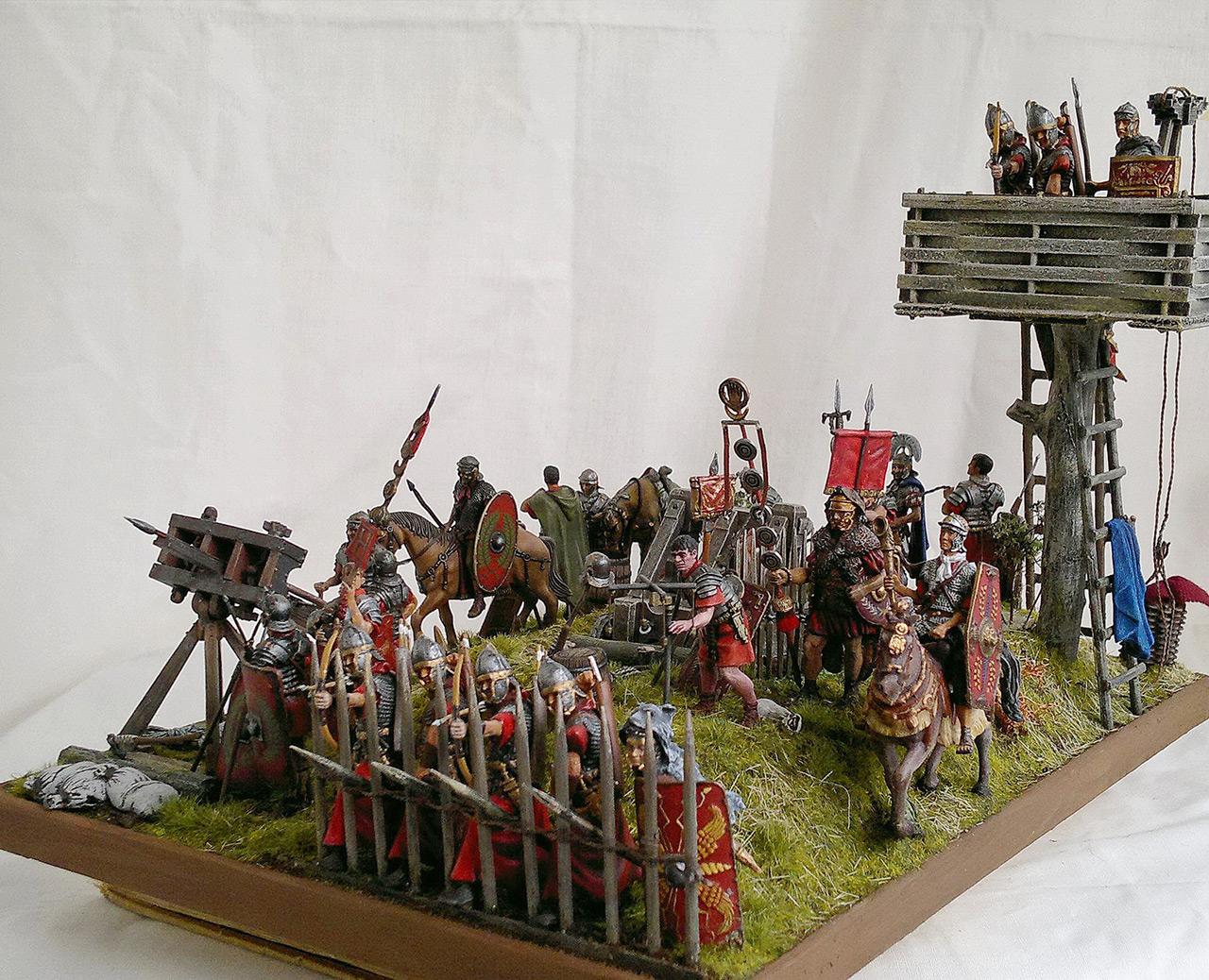 Dioramas and Vignettes: Roman battle position, photo #7