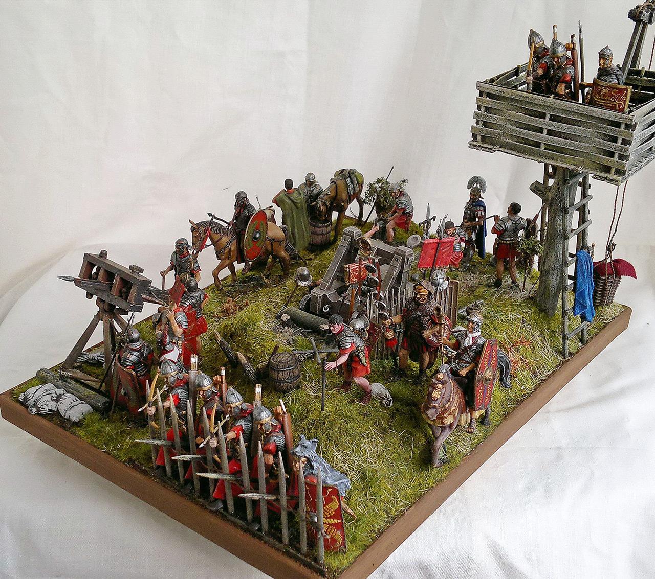 Dioramas and Vignettes: Roman battle position, photo #8