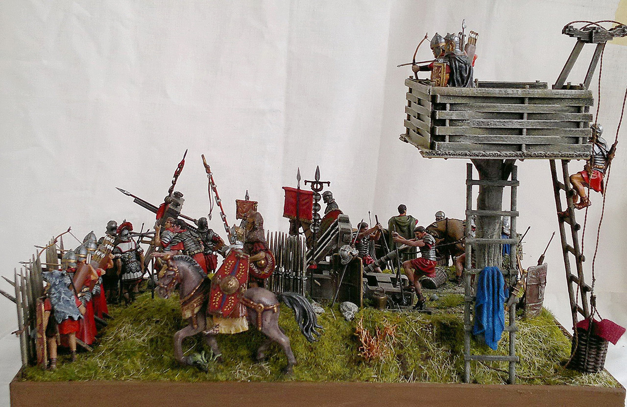Dioramas and Vignettes: Roman battle position, photo #9