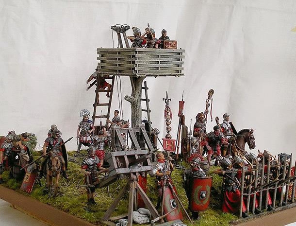 Dioramas and Vignettes: Roman battle position