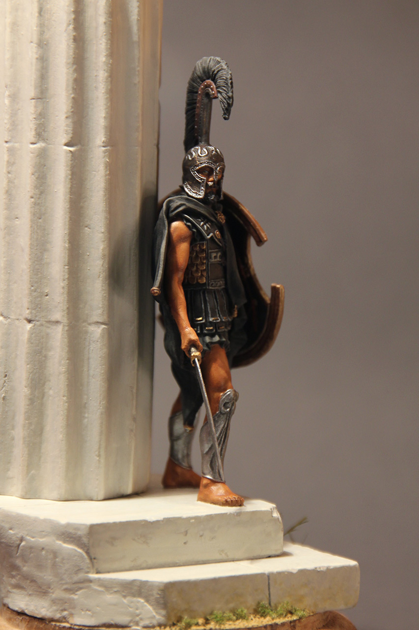 Figures: Warrior of the Death. Thespian hoplite, photo #3