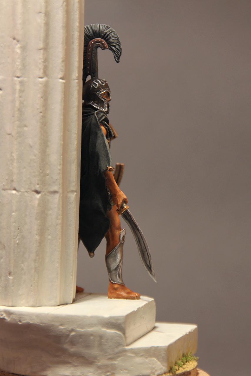 Figures: Warrior of the Death. Thespian hoplite, photo #4