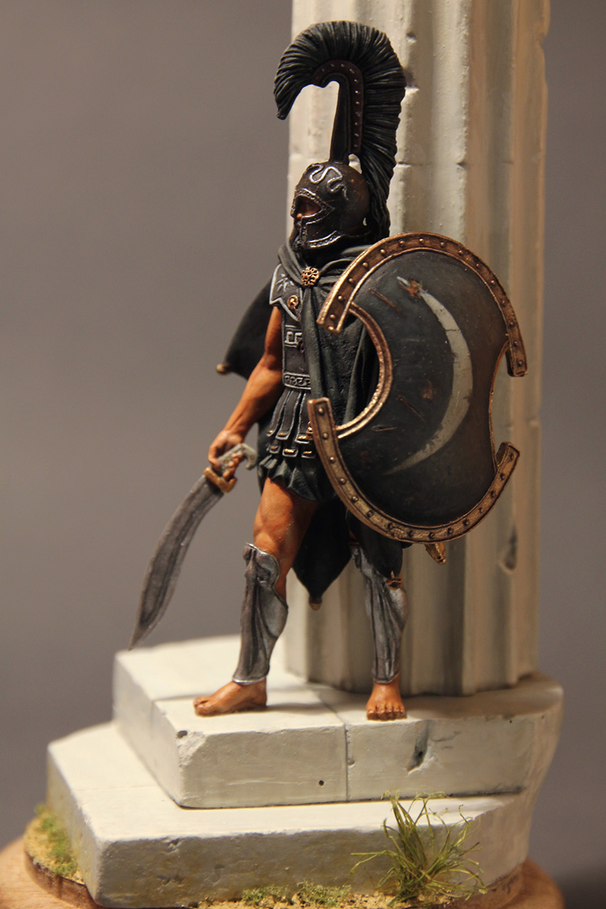 Figures: Warrior of the Death. Thespian hoplite, photo #9