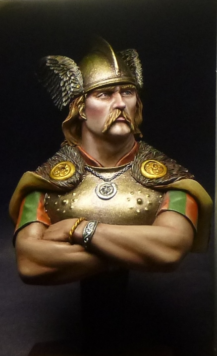 Figures: Gallic warrior, photo #1
