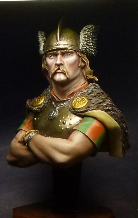 Figures: Gallic warrior, photo #2