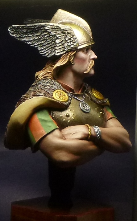 Figures: Gallic warrior, photo #6