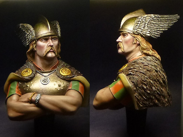 Figures: Gallic warrior