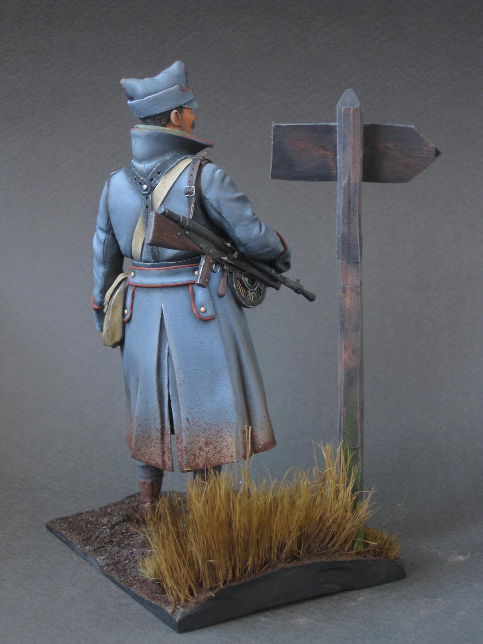 Figures: Romanian machine gunner, 1916, photo #5
