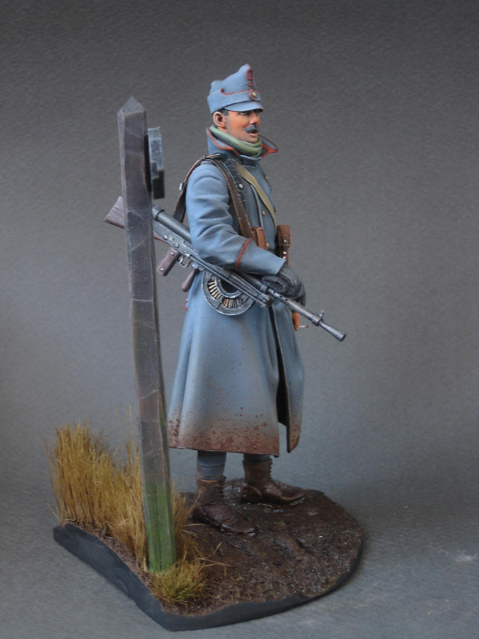 Figures: Romanian machine gunner, 1916, photo #7