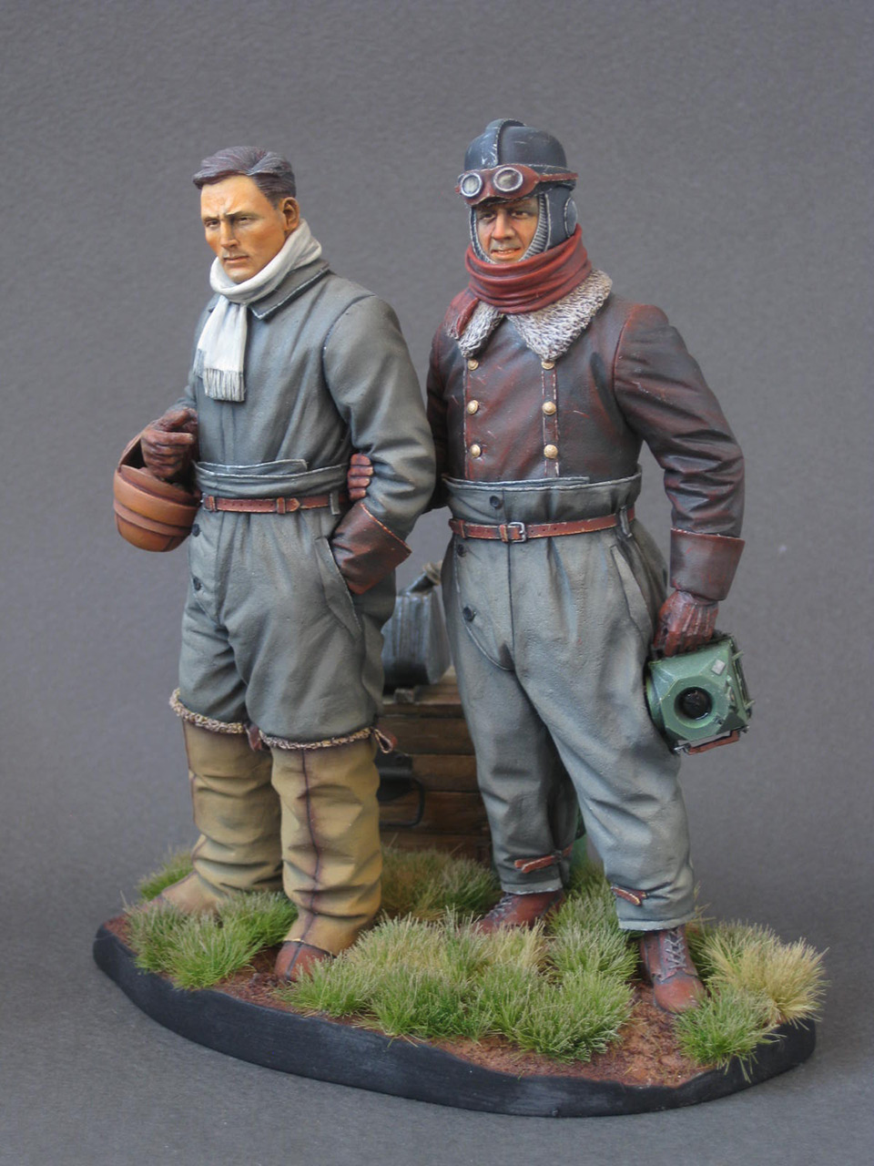 Figures: German aviators, WWI, photo #2