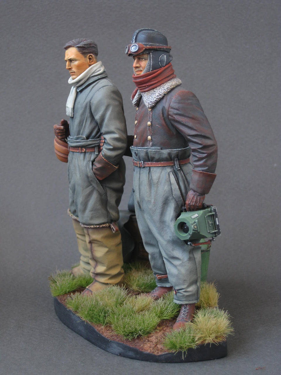 Figures: German aviators, WWI, photo #3
