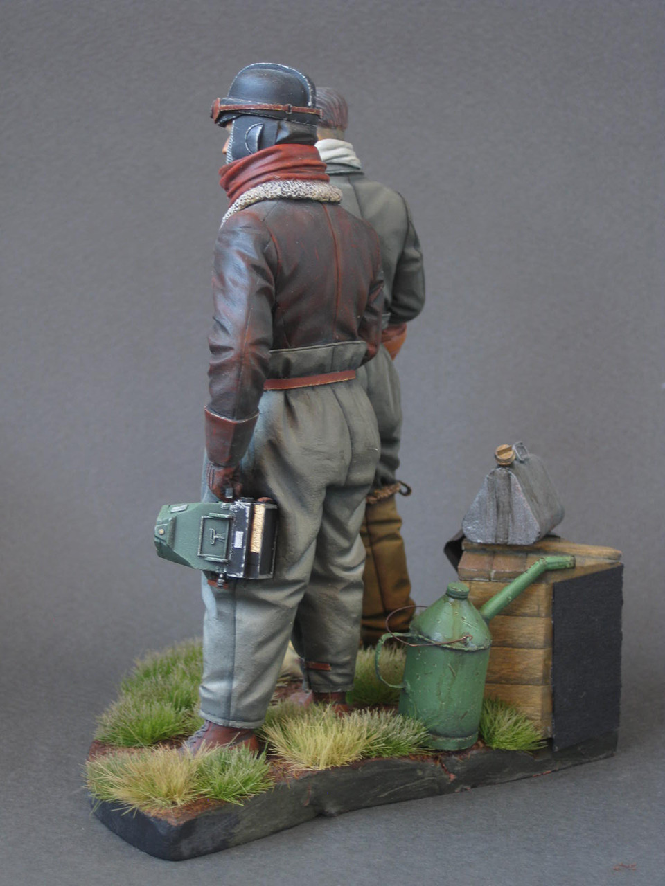 Figures: German aviators, WWI, photo #4