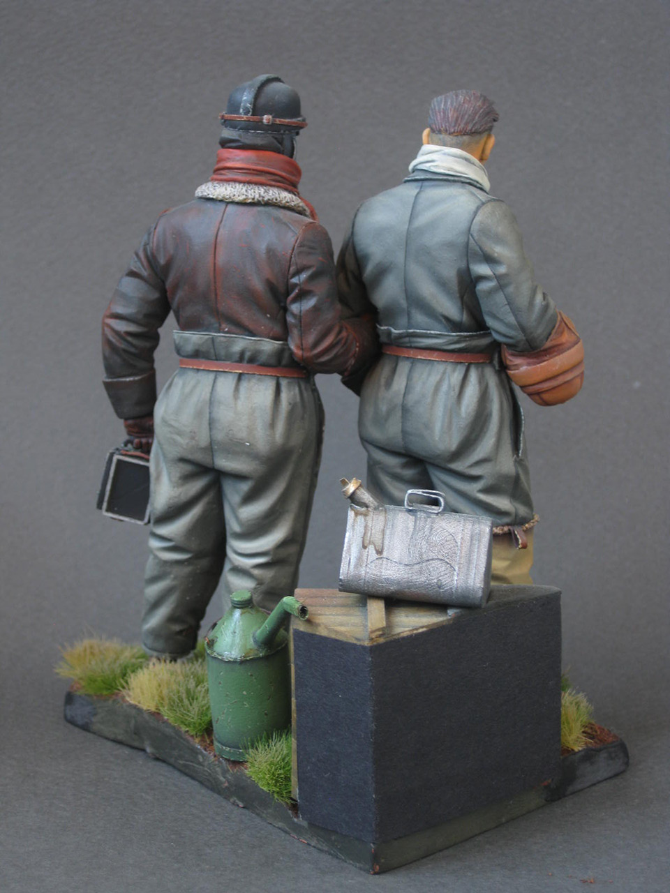 Figures: German aviators, WWI, photo #5