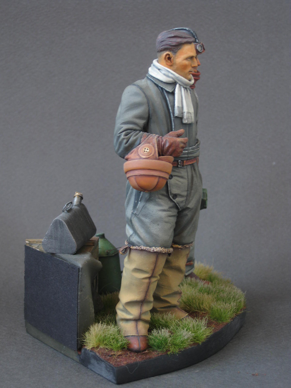 Figures: German aviators, WWI, photo #7