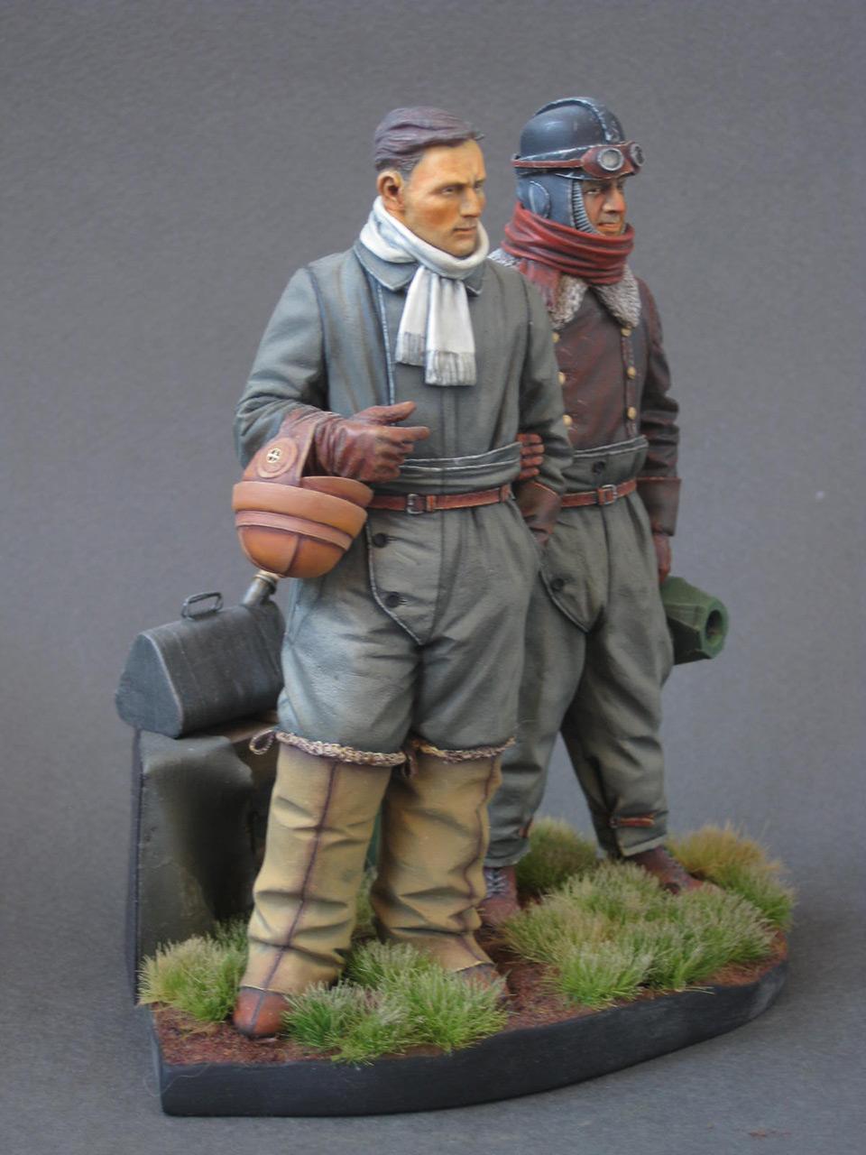 Figures: German aviators, WWI, photo #8