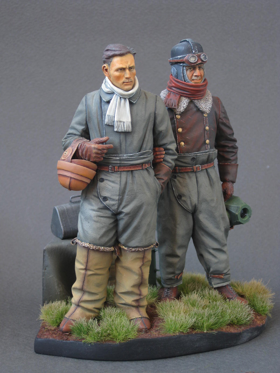 Figures: German aviators, WWI, photo #9