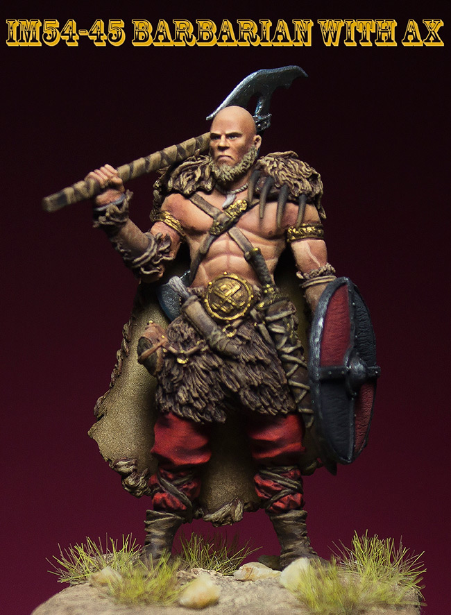 Miscellaneous: Barbarian with axe, photo #1