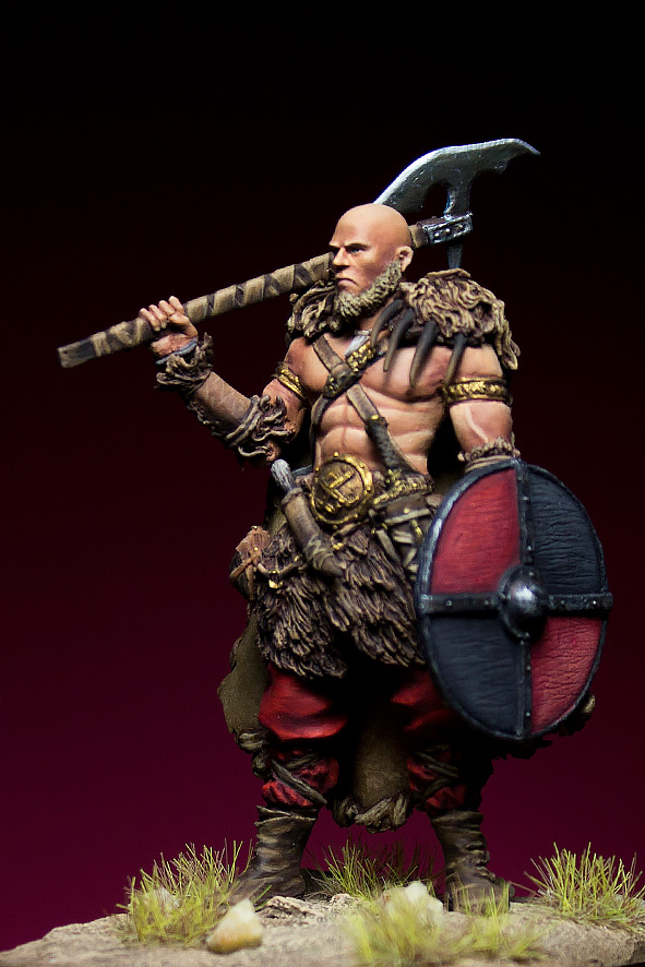 Miscellaneous: Barbarian with axe, photo #2