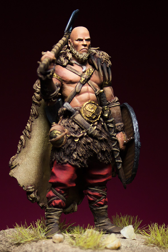 Miscellaneous: Barbarian with axe, photo #4