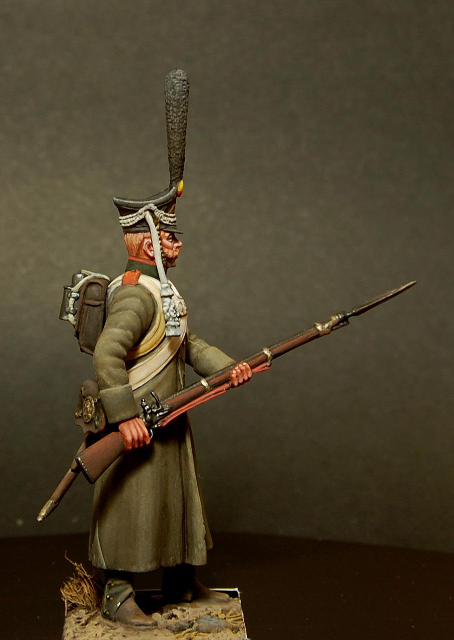 Figures: Soldier, Izmaylovsky regt., 1813, photo #1