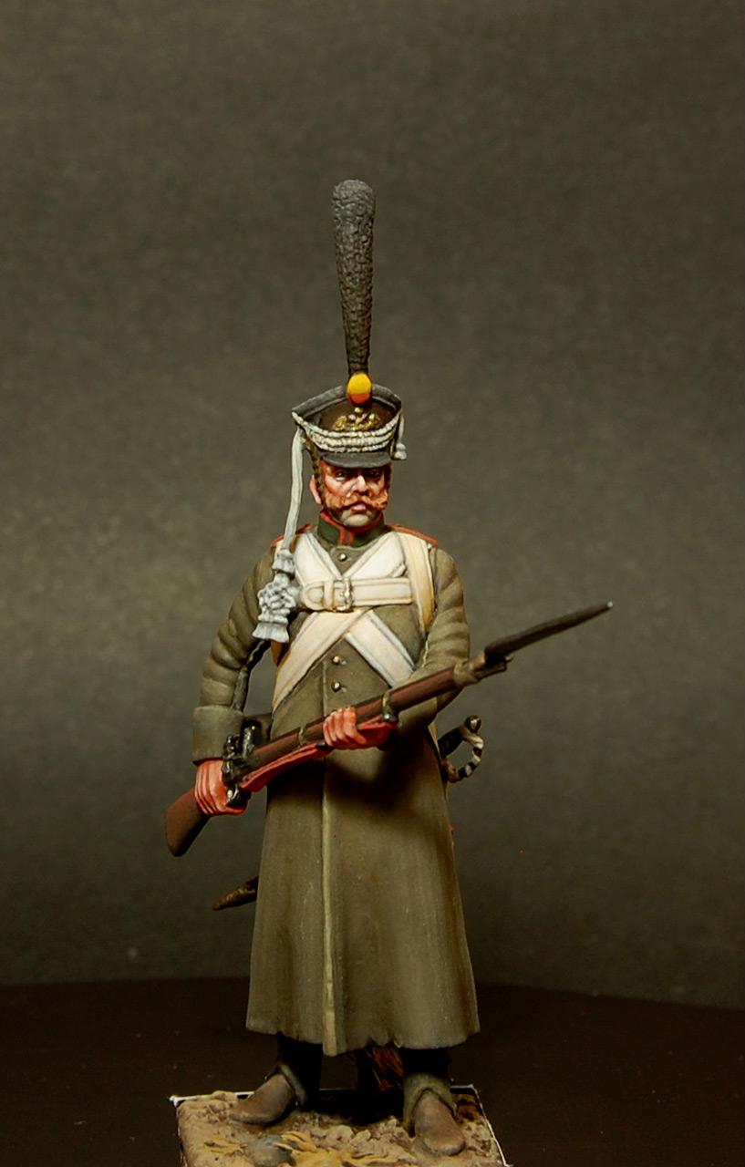 Figures: Soldier, Izmaylovsky regt., 1813, photo #4