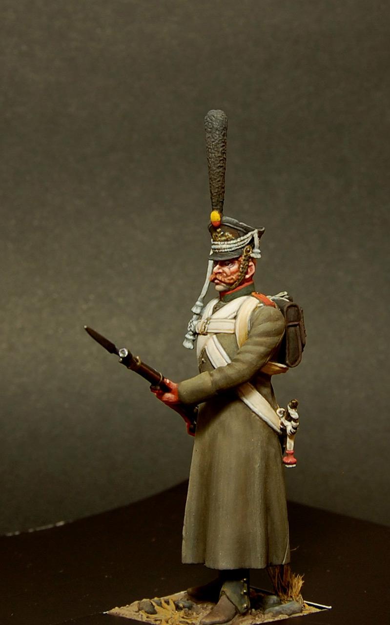 Figures: Soldier, Izmaylovsky regt., 1813, photo #5