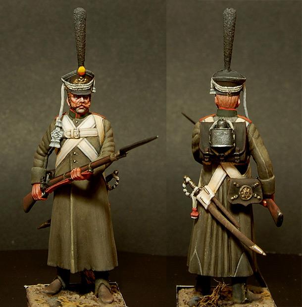 Figures: Soldier, Izmaylovsky regt., 1813