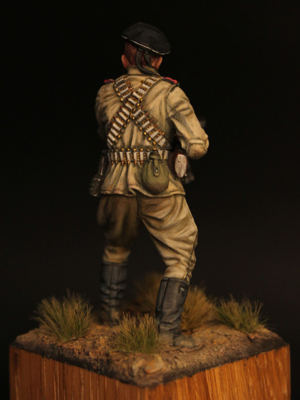 Figures: Machine gunner, Black sea fleet marines, 1943-44, photo #6