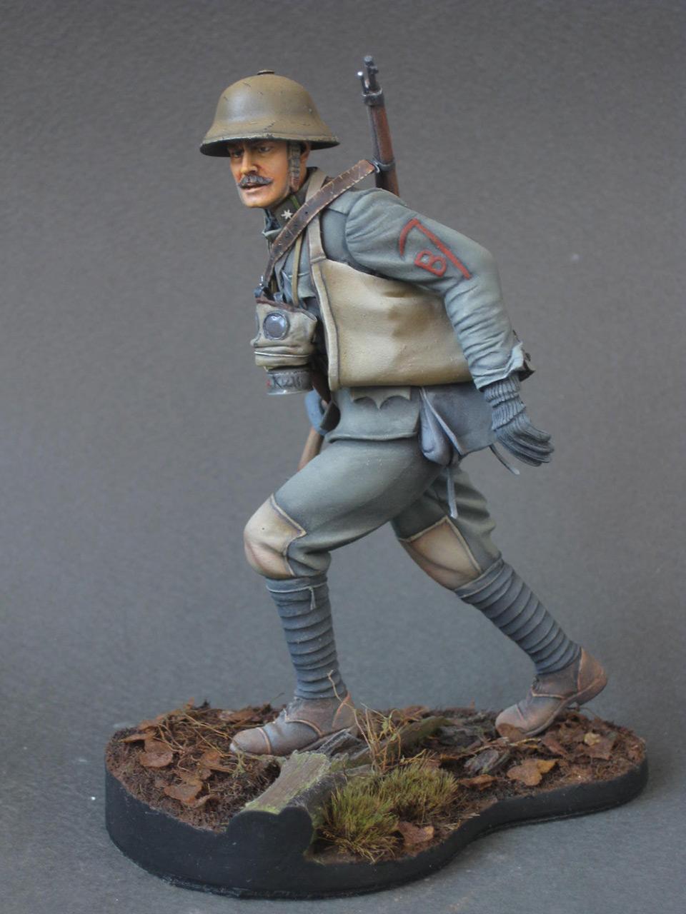 Figures: Austrian - Hungarian stormtrooper, 1917, photo #1